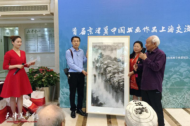 首届京津冀中国书画作品上海交流展