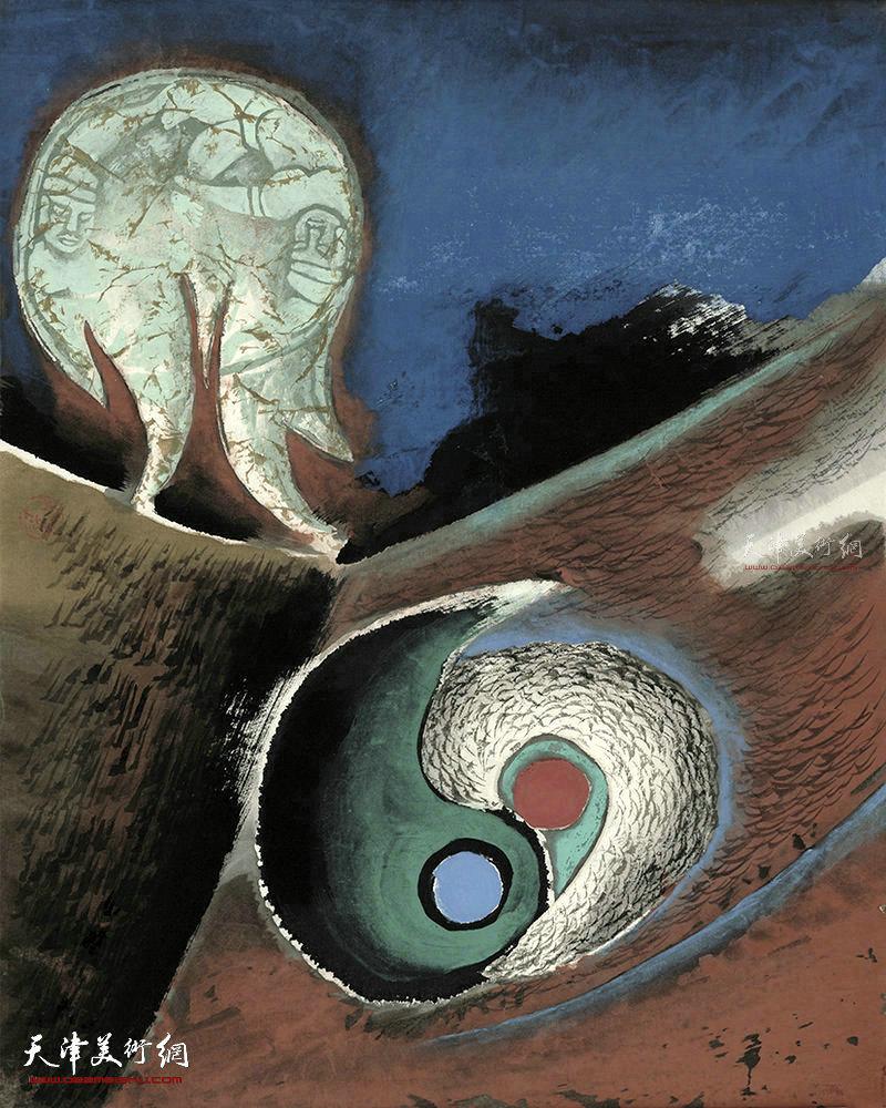 大宙 纸本   51×41    1996年
