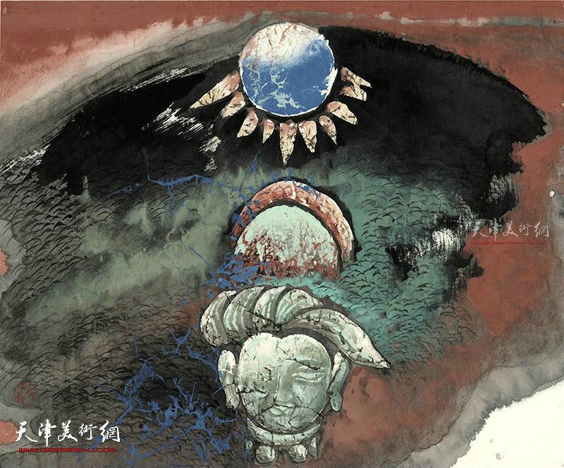 禅世  纸本  51×41    1996年