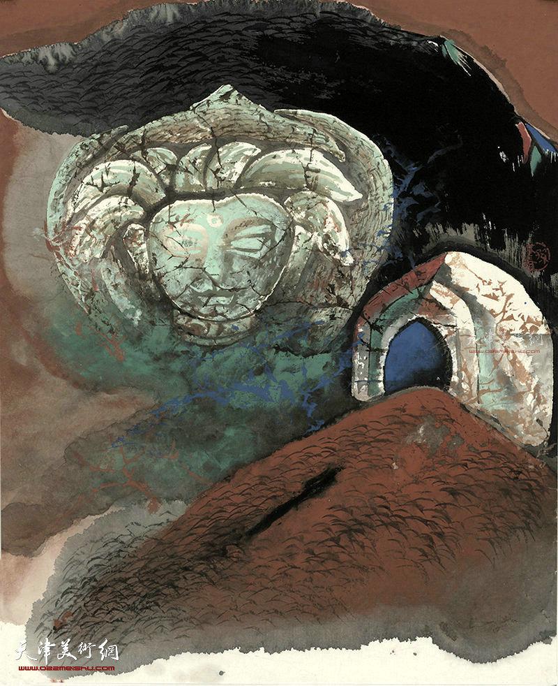 玄藏  纸本  51×41    1996年
