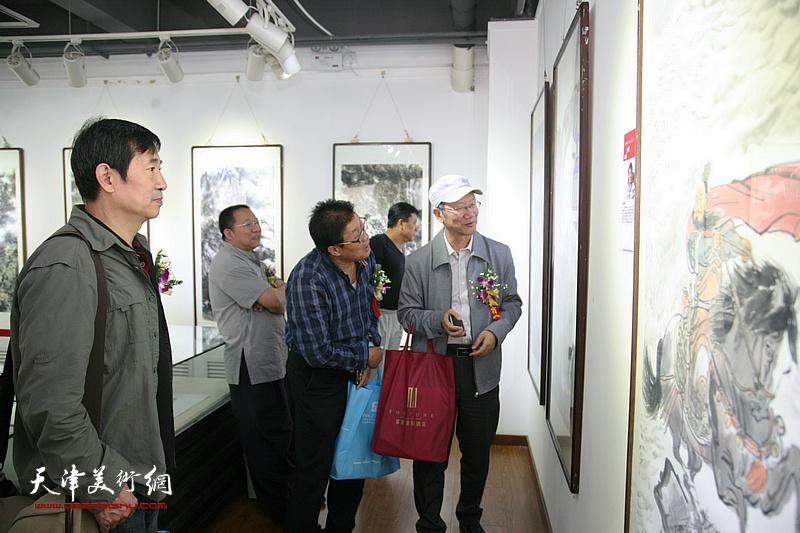 中国书画30家巡展天津暨吕大江艺术研讨会