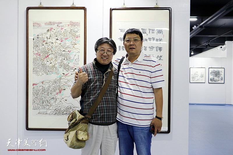首届京津冀中国书画作品上海交流展回津展