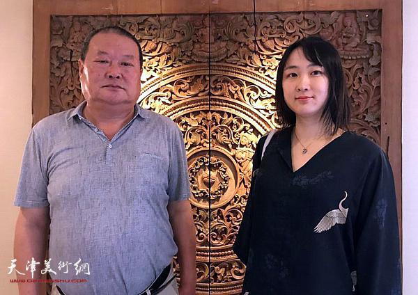 马孟杰、马丽亚在曼谷。