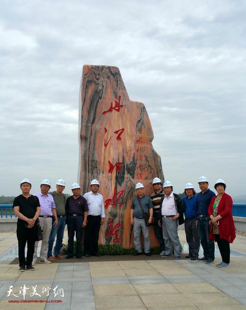 中国扬州八怪研究院天津院组织画家赴陕南采风