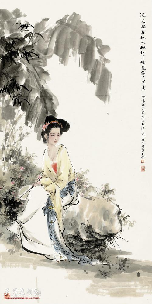 萧惠珠作品:红了樱桃,绿了芭蕉