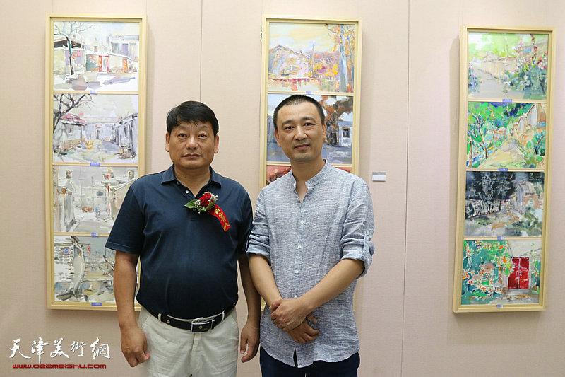 葛沽老街-王成油画作品展