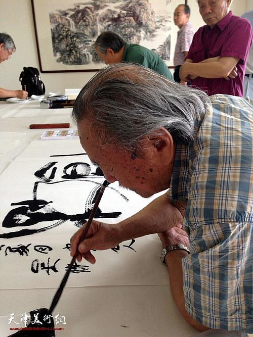 宏达盛泰书画艺术创作基地在滨海新区启用