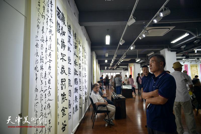 翰墨铸情—陈栋琨书法展现场。