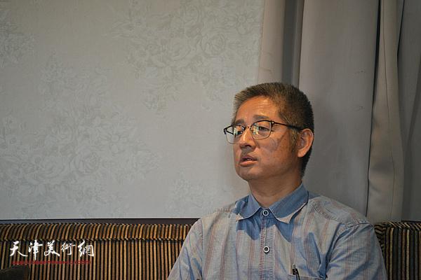 天津师范大学历史学院博士生导师杨效雷教授发言。