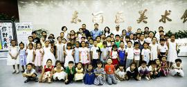 东丽区第三届少儿创意美术作品展在东丽美术馆开幕