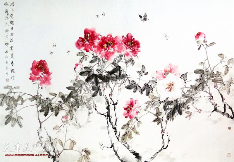 273号拍品:刘文生《富贵图》