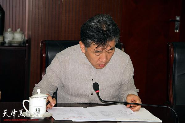 中国文联美术艺术中心美术展览处副处长介绍评审要求