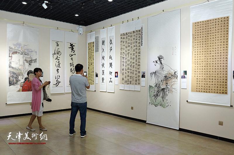 宝坻、武山书画作品交流展