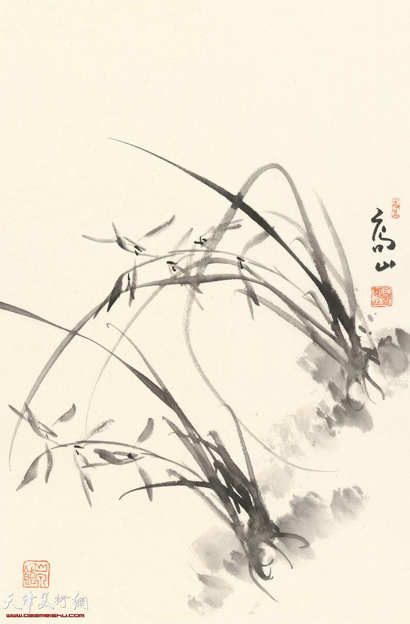 兰蕙多生意 70cm×46cm (2017年)
