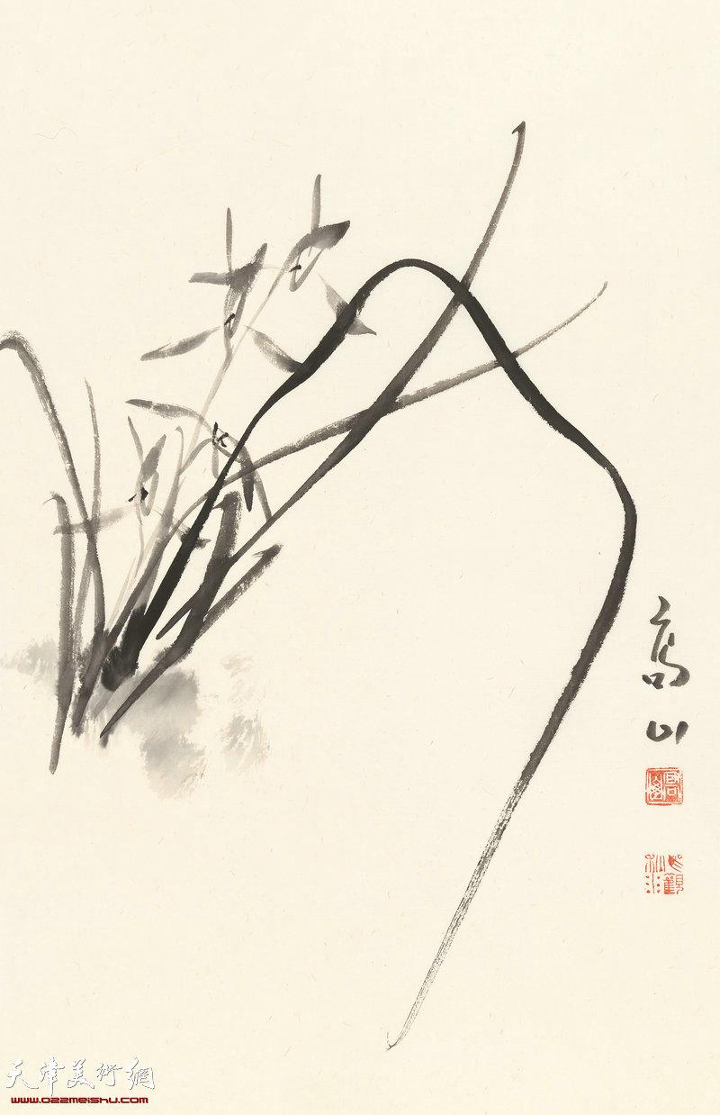 妙香乃如此 70cm×46cm (2017年)