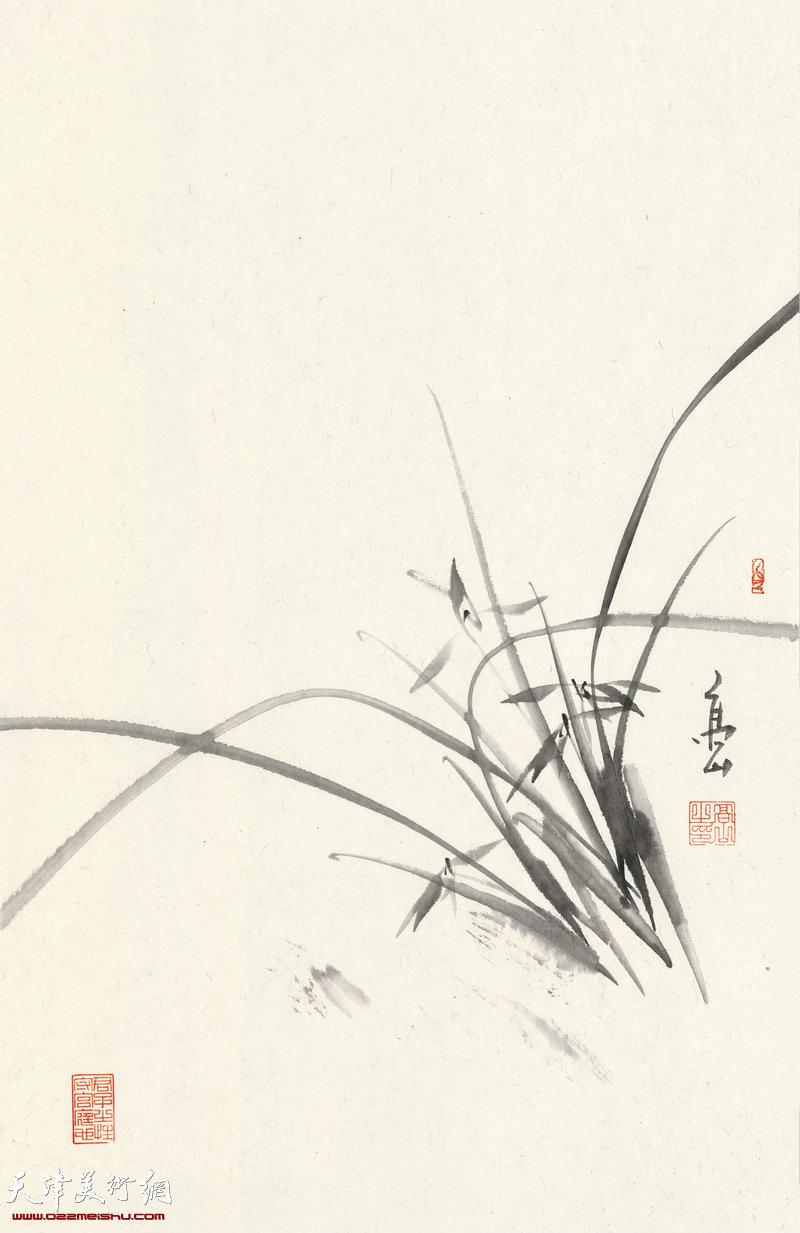 清香悠远  70cm×46cm (2017年)