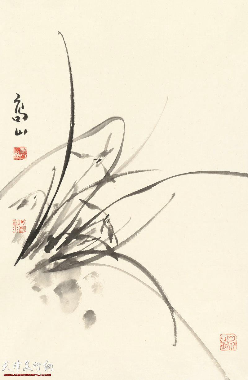 为草当做兰  70cm×46cm (2017年)
