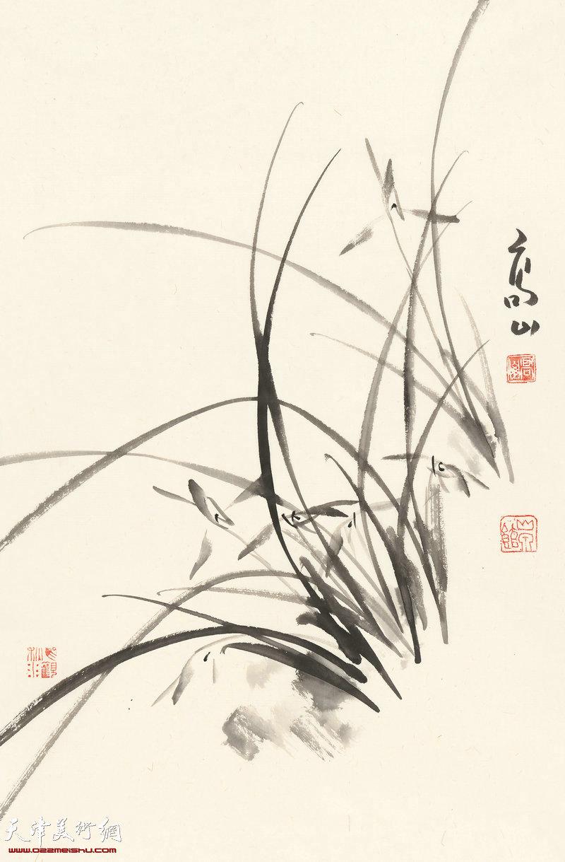 心怀万卷香   70cm×46cm (2017年)