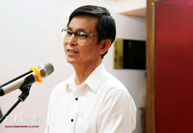 中国美术家协会副主席何家英致辞