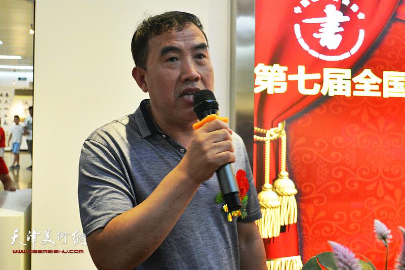 河西区少年宫主任刘元森致辞