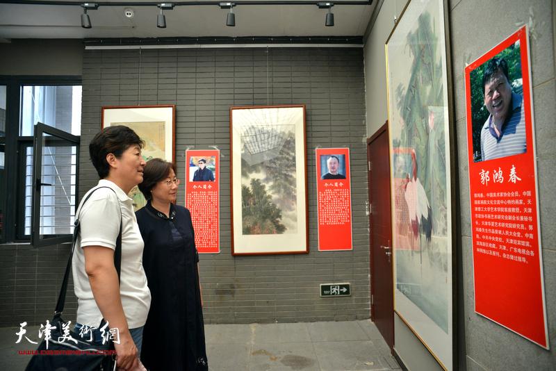 工笔当代—天津工笔重彩研究中心首届画展开幕