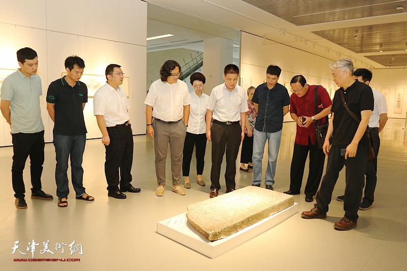 汉代画像石拓本展、化建国水墨作品巡展