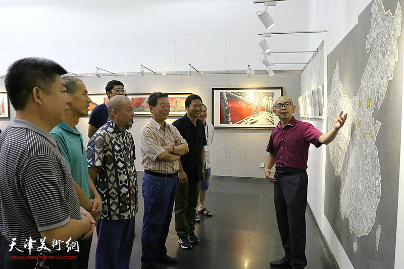 且行一一魏瑞江、柴博森、黄辉、肖爱华、阚传好五人作品展