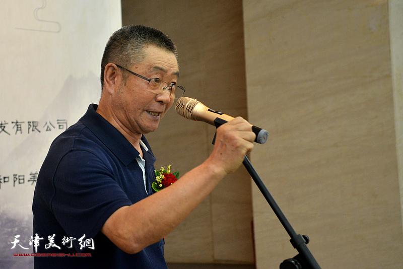 山西省晋城市原市长贺锐致辞。