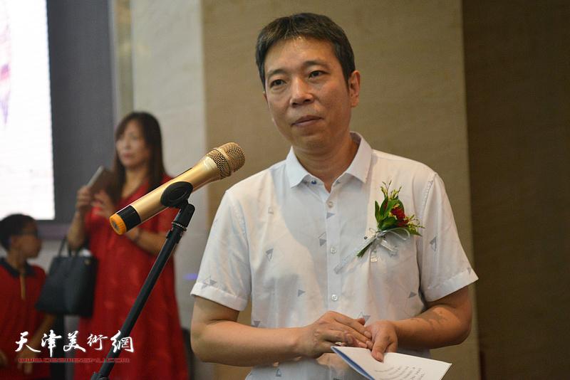 画展开幕仪式由山西省大同市文联主席樊菁主持。