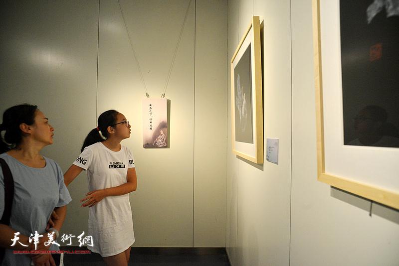 """""""黑宣金彩 盛世丹青——李尔山家庭艺术特展""""现场。"""