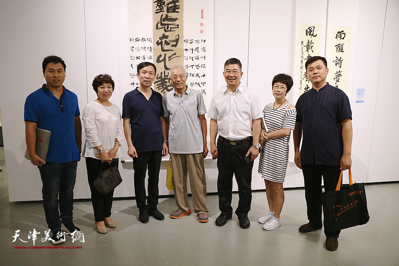 天津滨海·内蒙古乌海书法交流展