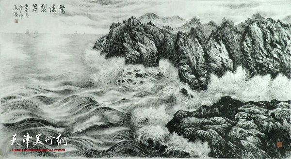 对传统山水画各种水法,石法及中国画散点透视,色彩,光影的处理方法和