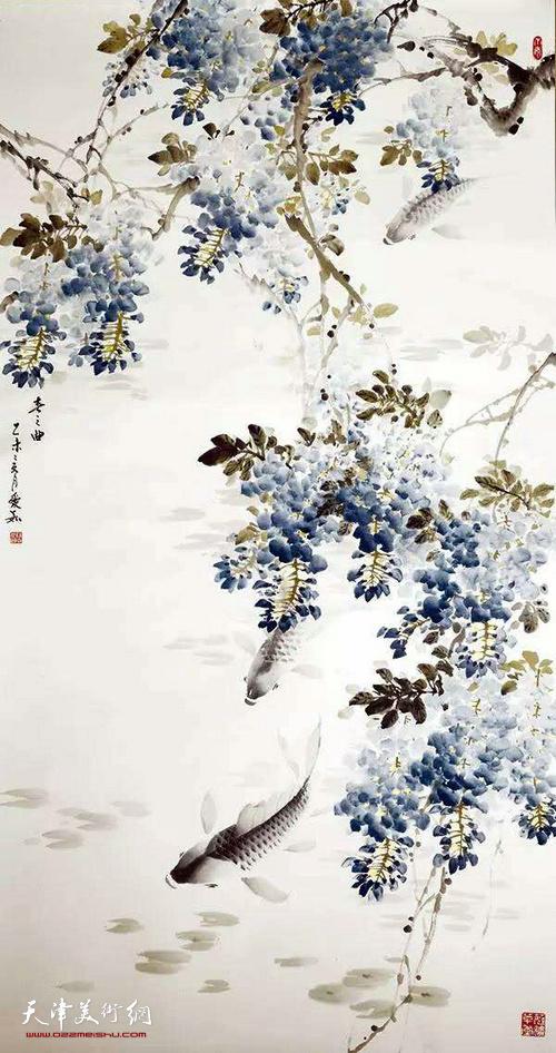 吕爱茹作品:春之曲