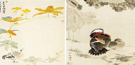 王若、任欢两位青年女画家笔下的花鸟画各具特色