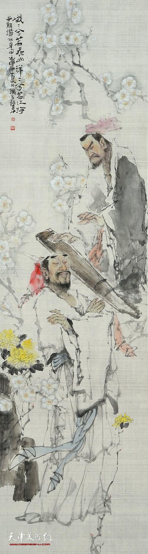 著名画家尚金声首次个展