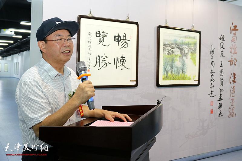 江南雅韵 津沪墨缘-姬俊尧·王国贤书画作品联展