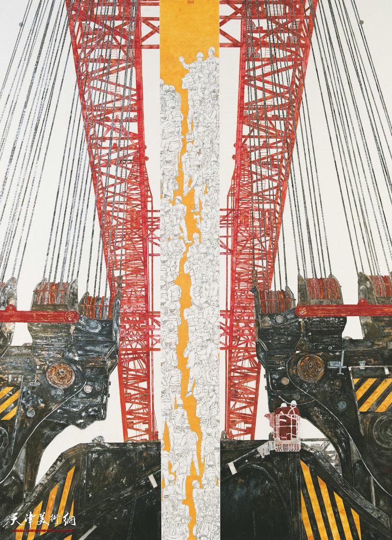 李建锋 广东 国之重器 230cm×170cm