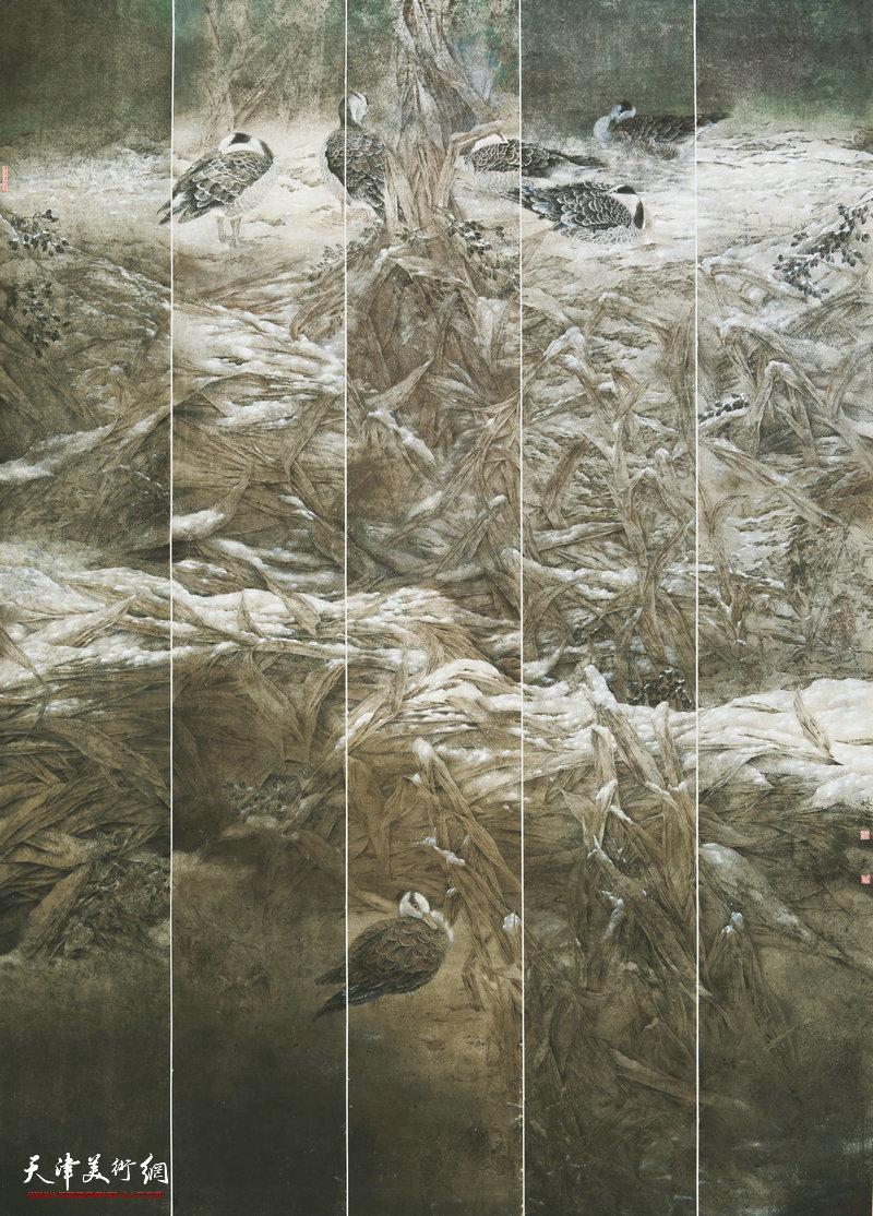 阮林铁 黑龙江 北方 214cm×152cm