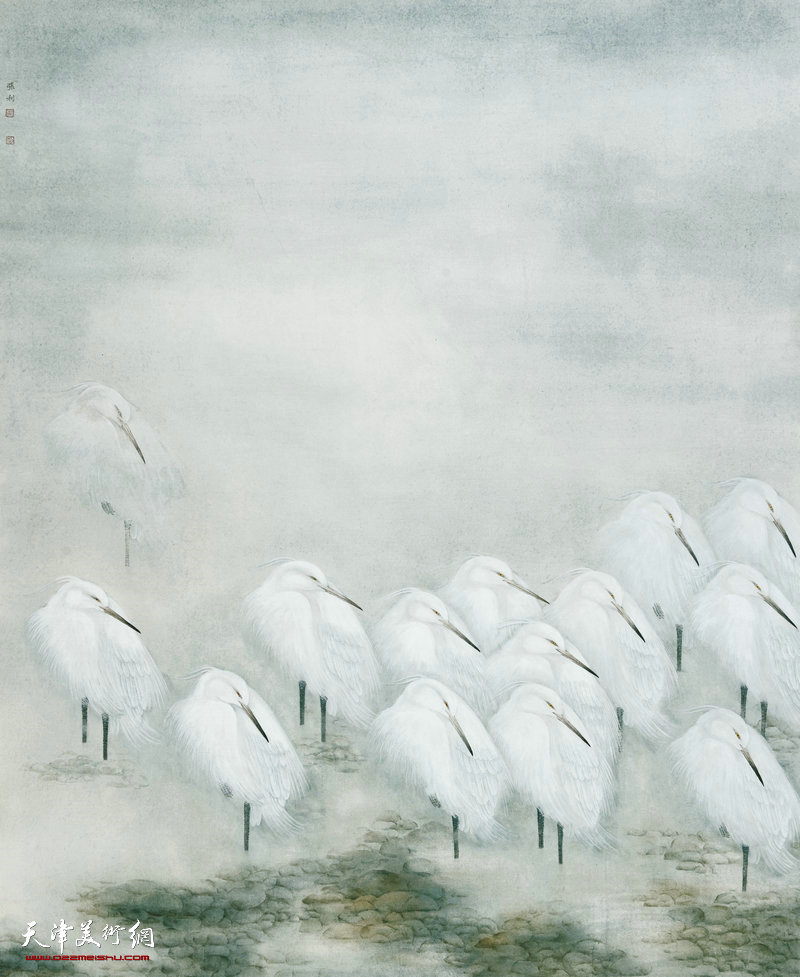 张利 湖南 自由系列·栖 190cm×156cm