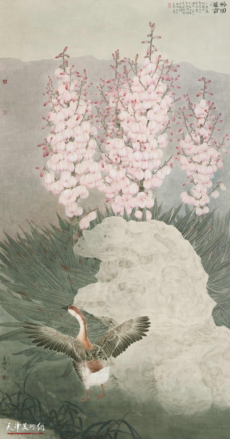 董明 四川 醉园·灌香 236cm×123cm