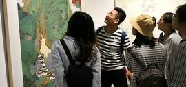 """""""品真格物""""全国青年工笔画作品展系列活动举行"""