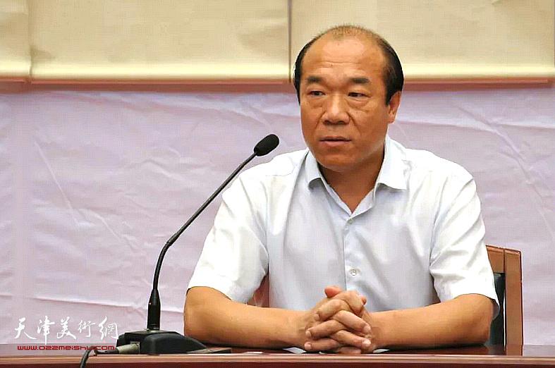 中国书协会员、天津市书协创作评审委员会委员王树秋先生讲座