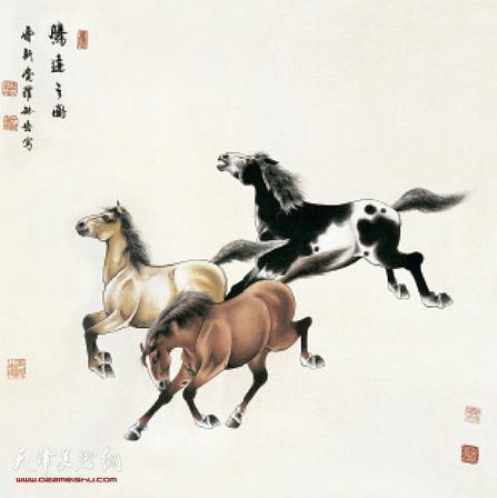 爱新觉罗·毓岳:《腾达云图》