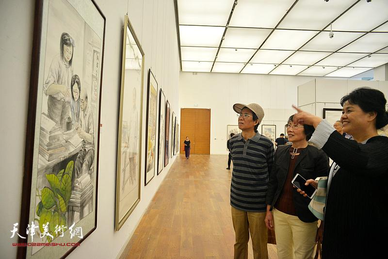 庆祝改革开放40周年-2018天津市美术作品展