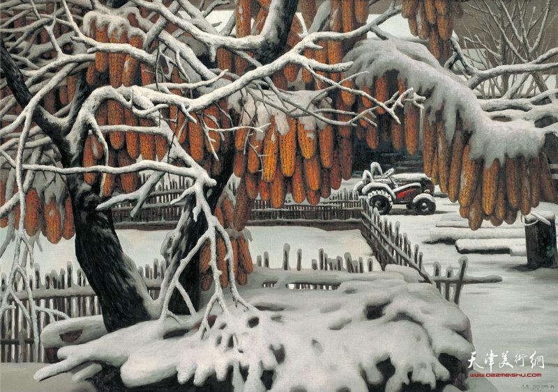 瑞雪120cm×170cm 1996年  Auspicious Snow(1996)
