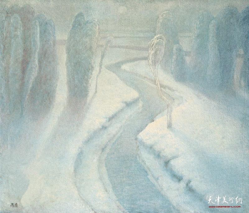 柔光·雾色  88cm×76cm 1984年 Soft Light·Fog(1984)
