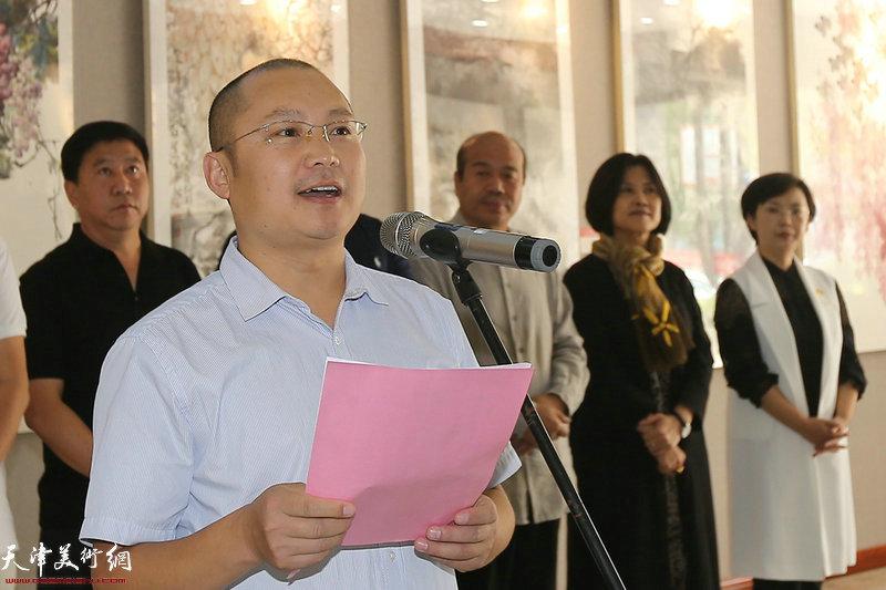 北京市房山区文化活动中心培训部主任黄河致辞