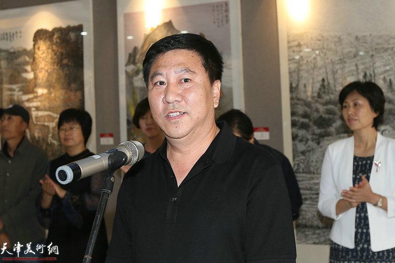 静海区民宗事务文化广播电视局局长姚新致辞