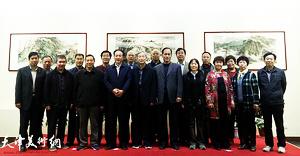 林泉清话—姜金军师生山水画作品展在潍坊寿光举行