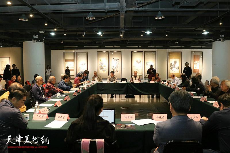 萧朗先生花鸟画艺术学术研讨会